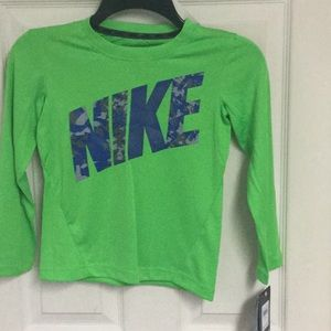 "NWT Kids mesh-like top by Nike ""DriFit "" Sz. 6"
